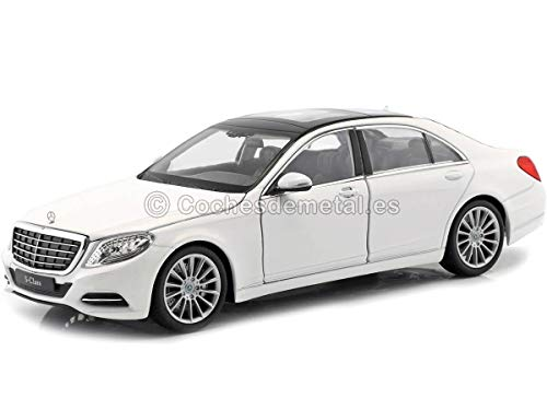 Mercedes S-Klasse (W222), weiss, 2013, Modellauto, Fertigmodell, Welly 1:24