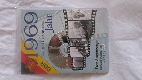 1969 war ein besonderes Jahr ~ Original DDR Wochenschau-Filmausschnitte auf Video-CD. (Mit Grußkarte und Umschlag). Verschenken Sie doch mal eine Geburtstags CD-Gruss-Karte. Die Wochenschau auf CD und in Stichworten auf der Karte. Die CD ist auf allen handelsüblichen DVD Spielern als VCD abspielbar. Ebenso auf PC-CD-ROM-Laufwerken mit Media Player (ab Version 98) und unter Mac 98 OS(8.6 und höher). Laufzeit 15 Minuten.