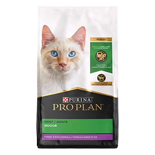 Price comparison product image Purina Pro Plan Hairball,  Healthy Weight,  Indoor Dry Cat Food,  FOCUS Indoor Care Turkey & Rice Formula - 16 lb. Bag
