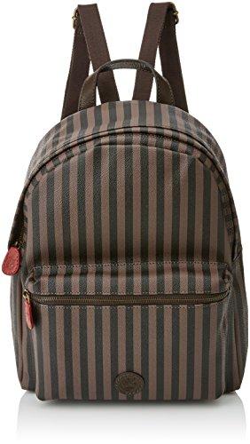 Timberland Damen Tb0m5574 Rucksack, Braun (Brown Black), 16x33x28 cm (W x H x L)