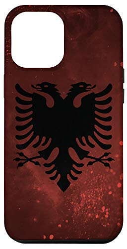 iPhone 12 Pro Max Albania Flag and Deep Space - Albanian Pride Case