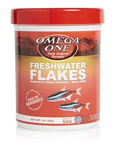 Omega One Freshwater Flakes, 1 oz