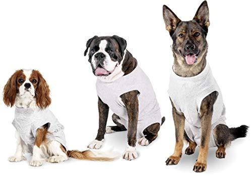 Karlie/Flamingo Safety Body-Geschirr, Jacke für Hunde grau,36 cm