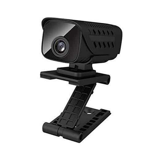 FENGCHUANG Mini cámara IP WiFi, cámara espía oculta inteligente de alta definición de 1080p, cámara de seguridad para el hogar con funciones de monitoreo de movimiento y visión nocturna