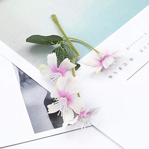 Künstliche Blume 6 Bündel Günstige Seide Hortensie Flores Künstliche Wohnaccessoires DIY Geschenkbox Weihnachtskranz Kunstblumen 6
