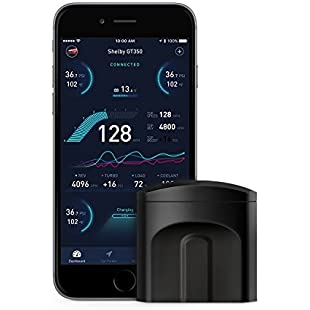 Nonda Zus - Smart Vehicle Health Monitor | It Monitors the State of Your Vehicle | Diagnosis  and Predictions For more security | Stylish design | Work With Zus App - Black:Anders-als-andere