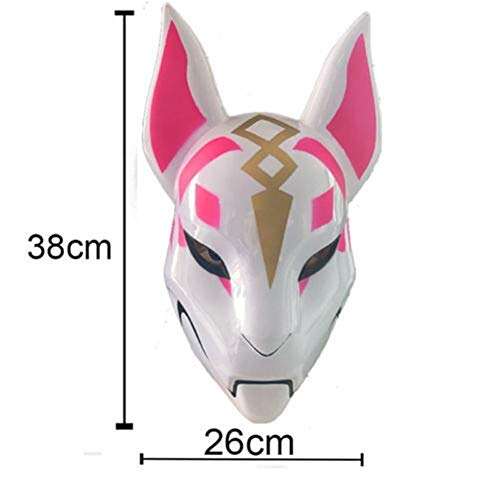 GROSSARTIG Unisex Fox Drift Huidmasker Kostuum Oogmasker Halloween Masker