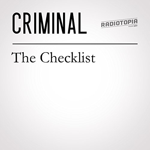 52: The Checklist audiobook cover art