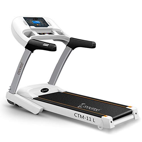 Cockatoo CTM-11L 2HP (3.5HP Peak) Motorized Treadmill With Manual Incline & Auto-Lubrication