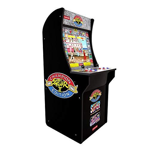 Juguetrónica Tastemakers Arcade1Up Mini Cabinet Arcade Game Street Fighter II Champion Edition 122 cm
