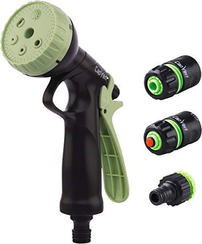 Cap Vert Kit Pistolet d'arrosage à Pomme ABS et raccord Diamã¨Tre 19 mm