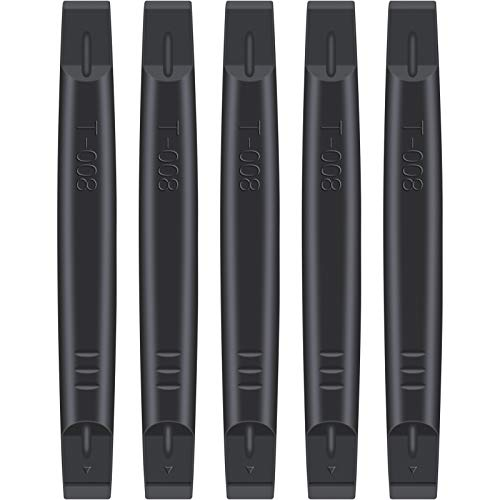 Urbanstrive Nylon Plastic Spudger Non-Marring Opening Tool Pry Bar for Open and Repair iPhone, Smartphones, Laptop, and Electronic Plastic Cases, 5-Pack (Black)