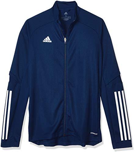 adidas Damen Trainingsjacke Condivo 20 Training Jacket, Team Navy Blue/White, 2XL, FS7106
