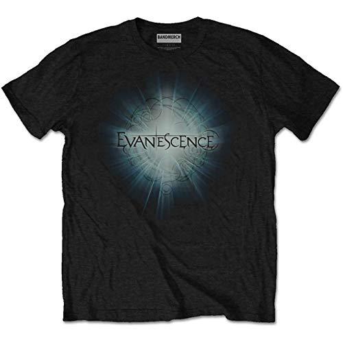 T-Shirt # L Black Unisex # Shine