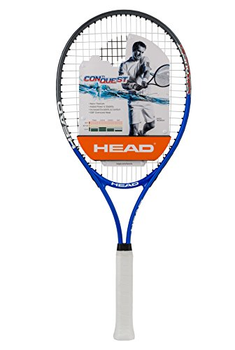 HEAD Ti Conquest Tennis Racquet, 4 3/8-Inch