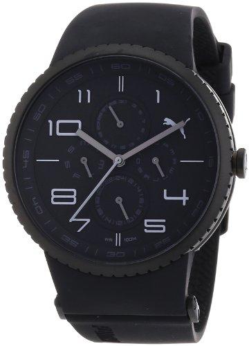 Esprit A.PU102931002 - Reloj analógico de Cuarzo para Hombre con Correa de plástico, Color Negro