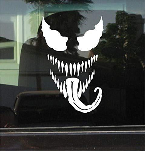 autocollant mural Autocollant de voiture autocollant de voiture Venom (Spiderman) autocollant 17.5X11.25Cm