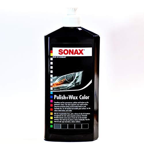 SONAX 296100 Polish e cera - nero, 500ml