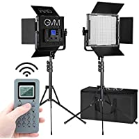 GVM 672S-B Bi-Color LED Video 2-Light Kit