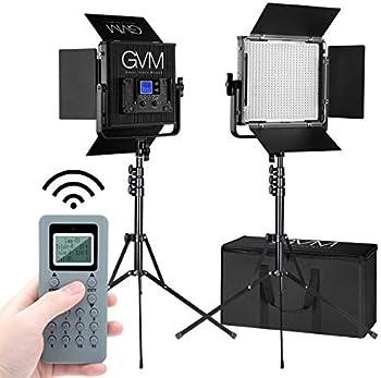 GVM 672S-B Bi-Color LED Video 2-Light Kit