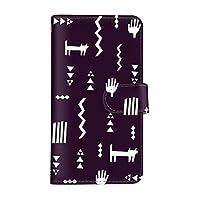 スマ通 DIGNO G 602KC 国内生産 カード スマホケース 手帳型 KYOCERA 京セラ ディグノ ジー 【2-パープル】 シンプル バイカラー q0004-e0370