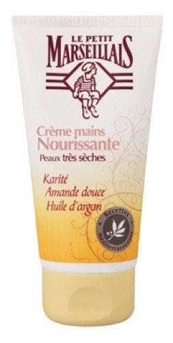 Handcreme mit Mandel und Arganöl bei trockener Haut, Le Petit Marseillais 1x 75 ml