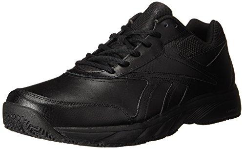 Reebok Men's Work N Cushion 2.0 Walking Shoe, Black/Black, 10 M US