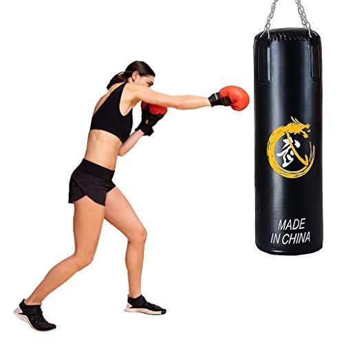 Saco De Boxeo Pesado para Adultos, Saco De Boxeo Pesado Saco De Boxeo Colgante para El Hogar Saco De Boxeo Taekwondo para Niños Artes Marciales Entrenamiento De Lucha Fitness