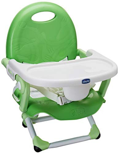 Chicco Asiento Booster Pocket Snack, color Verde