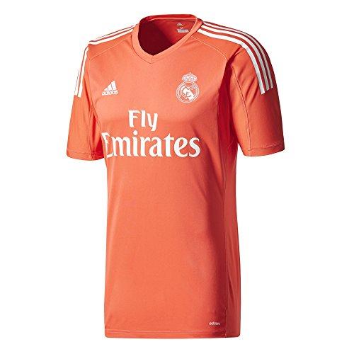 adidas A Gk JSY Camiseta de equipación-Línea Real Madrid, Hombre, Rojo (rojbri/Blanco), XS