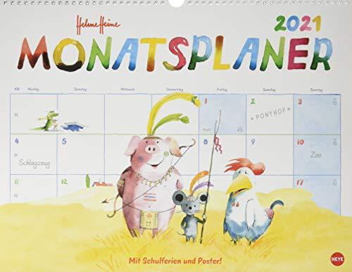Helme Heine Monatsplaner Kalender 2021