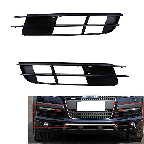 BLH-AMY Par De Rejilla Inferior del Parachoques Delantero para Audi Q7 07-09