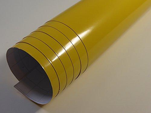 Jaune brillant large 1,52 m x 10 avec canaux de ventilation (4,8 €/ m²) les grandes quantités ab 4,06 €/ m²