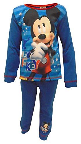 Disney Mickey Mouse Thinking Jungen Schlafanzug 3-4 Jahre