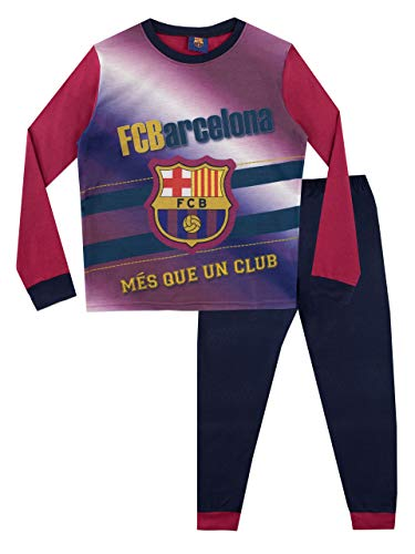 FC Barcelona Pijama para Niños Football Club Multicolor 7-8 Años