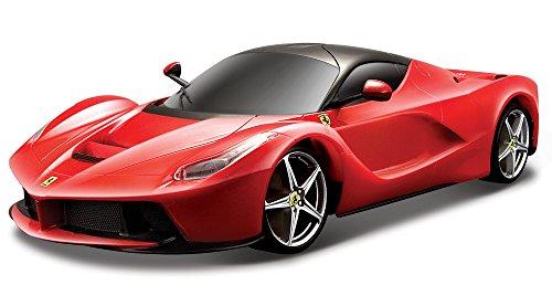 Bburago - Ferrari LaFerrari Modellino, Scala 1:24, Rosso