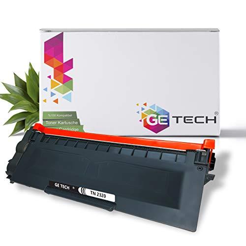 Getech XXL Toner Kompatibel für Brother TN-2320 TN-2310 MFC-L2700DN MFC-L2700DW MFC-L2720DW MFC-L2740DW DCP-L2500D DCP-L2520DW DCP-L2540DN DCP-L2560DW HL-L2300D HL-L2360DN HL-L2340DW