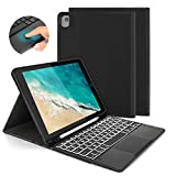 Keyboard Case with Touchpad Mouse for iPad 10.2 2019 / iPad Air 3