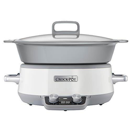Crock-Pot Duraceramic CSC027X - 6 L, color blanco