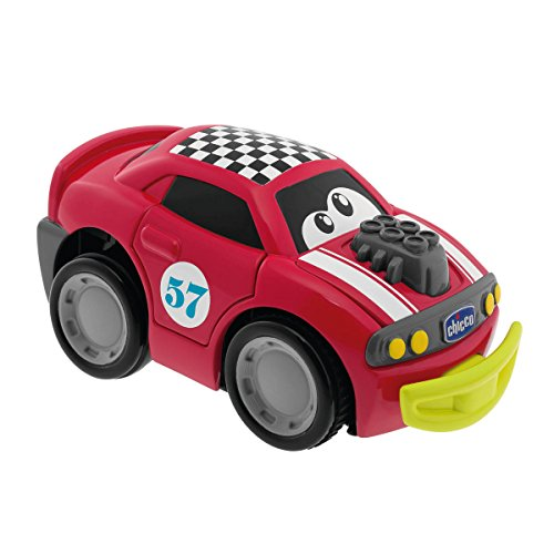 Chicco - Turbo Touch Crush Derby Macchina, Rosso, 6716