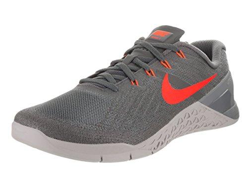 Nike Metcon 3 - Zapatillas de gimnasia para hombre, color gris, color Gris, talla 38.5 EU