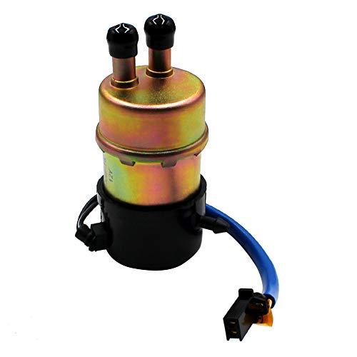 12V Elektrisch Kraftstoffpumpe Benzinpumpe Selbstansaugend für Kawasaki ZR1100/ZRX1100/ZR1200/ZZR1200/ZR600