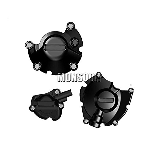 Alternator Engine Crank Case Protector Cover Set For YAMAHA R1 2015-2016