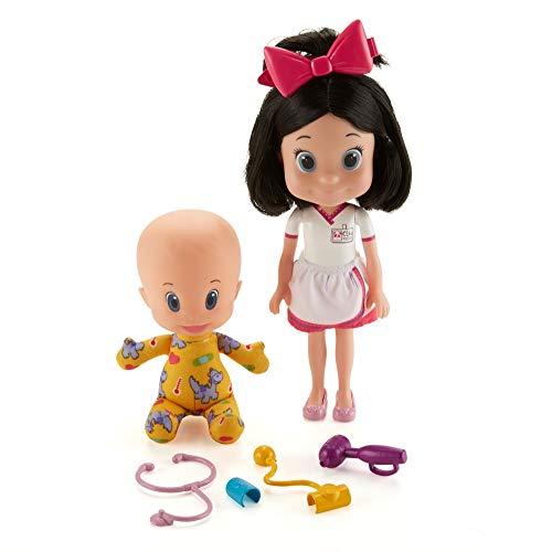 Mattel Cleo & Cuquin-Muñecos Vamos al médico Juguetes de la Familia Telerín, Multicolor GFB54