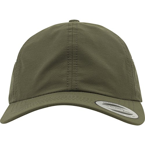Flexfit Low Profile Water Repellent Caps, Buck, one Size