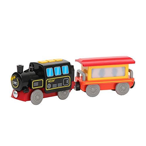 Tren eléctrico de Juguete, Juguete de riel de Locomotora de ferrocarril magnético,...