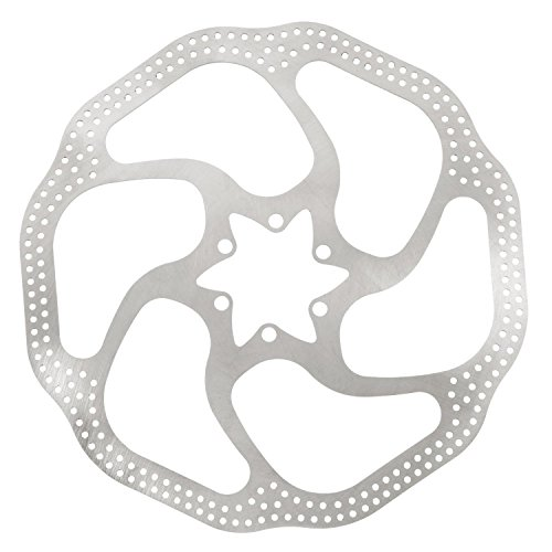 "SODIAL (R) Avid HS1 Heat Shedding Bike Cycle 6"" Disc Brake Rotor 160mm 6 Bolts T25 BB5/BB7"