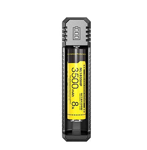 Nitecore Unisex– Erwachsene USB Ui1 Ladegerät, Mehrfarbig, Einheitsgröße