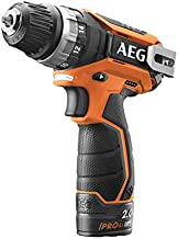 AEG Battery Driver Drill, 10 mm, Cordless - BS12C2 LI-152B - Multi Color