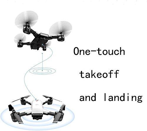 Drones GPS gyroscopique 4 axes RC avec maintien l'altitu360 °, objectif grand-angle contrôlé à 120 °, GPS gyro 4 axes, caméra 5G GPS Wifi 1080P HD, vidéo en direct, vidéo HD en direct et GPS